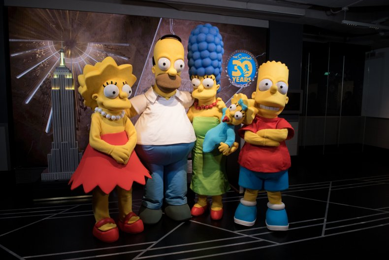 The Simpsons anniversary