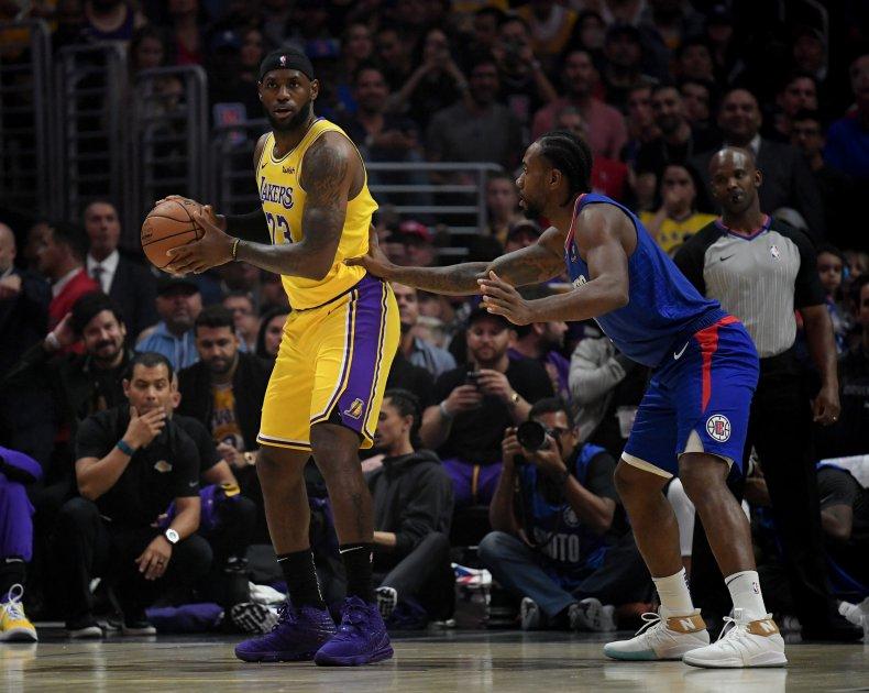 LeBron James, Kawhi Leonard, Lakers, Clippers
