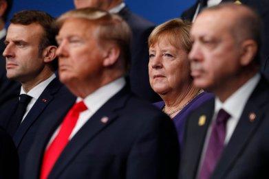 NATO, China, Donald Trump,  Russia, Erdogan, Macron