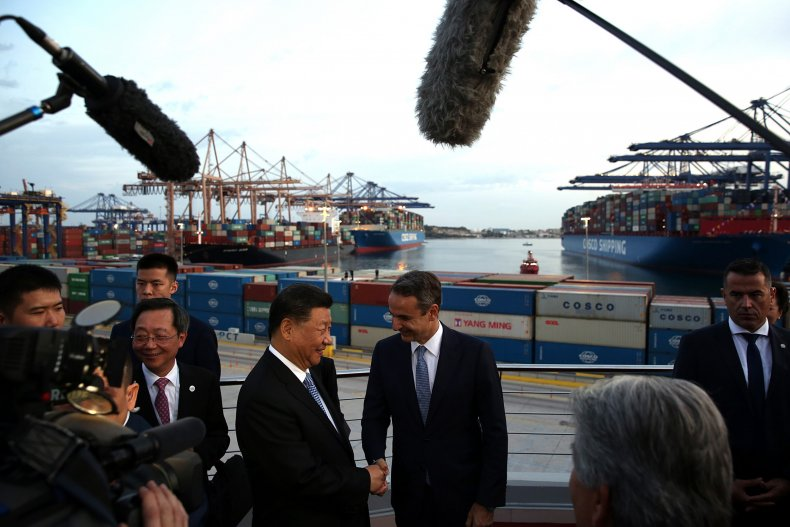 China, Greece, Piraeus, NATO, port, influence, Russia