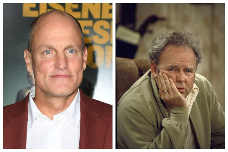 woody harrelson all in the family