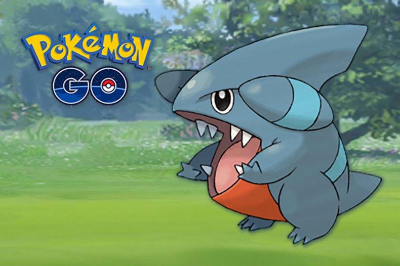 pokemon go gible
