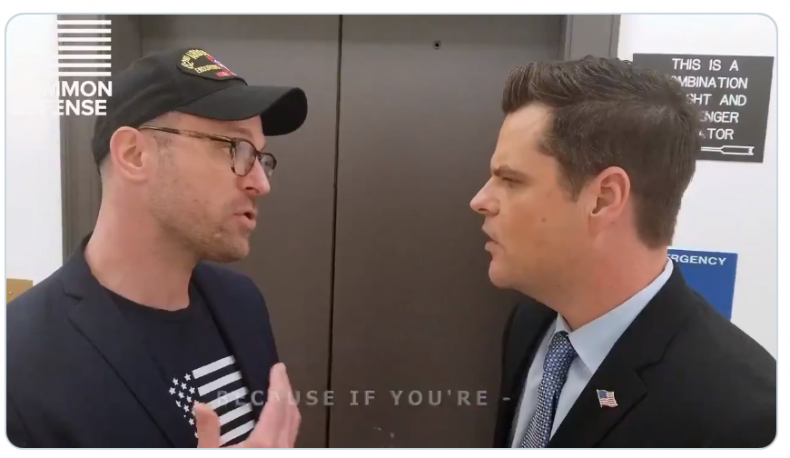 veteran confront matt gaetz impeachment