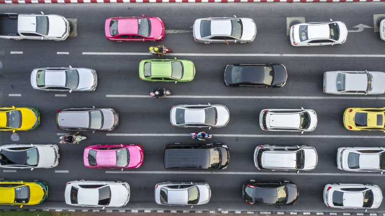 cars, pollution, vehicles, traffic, stock, getty