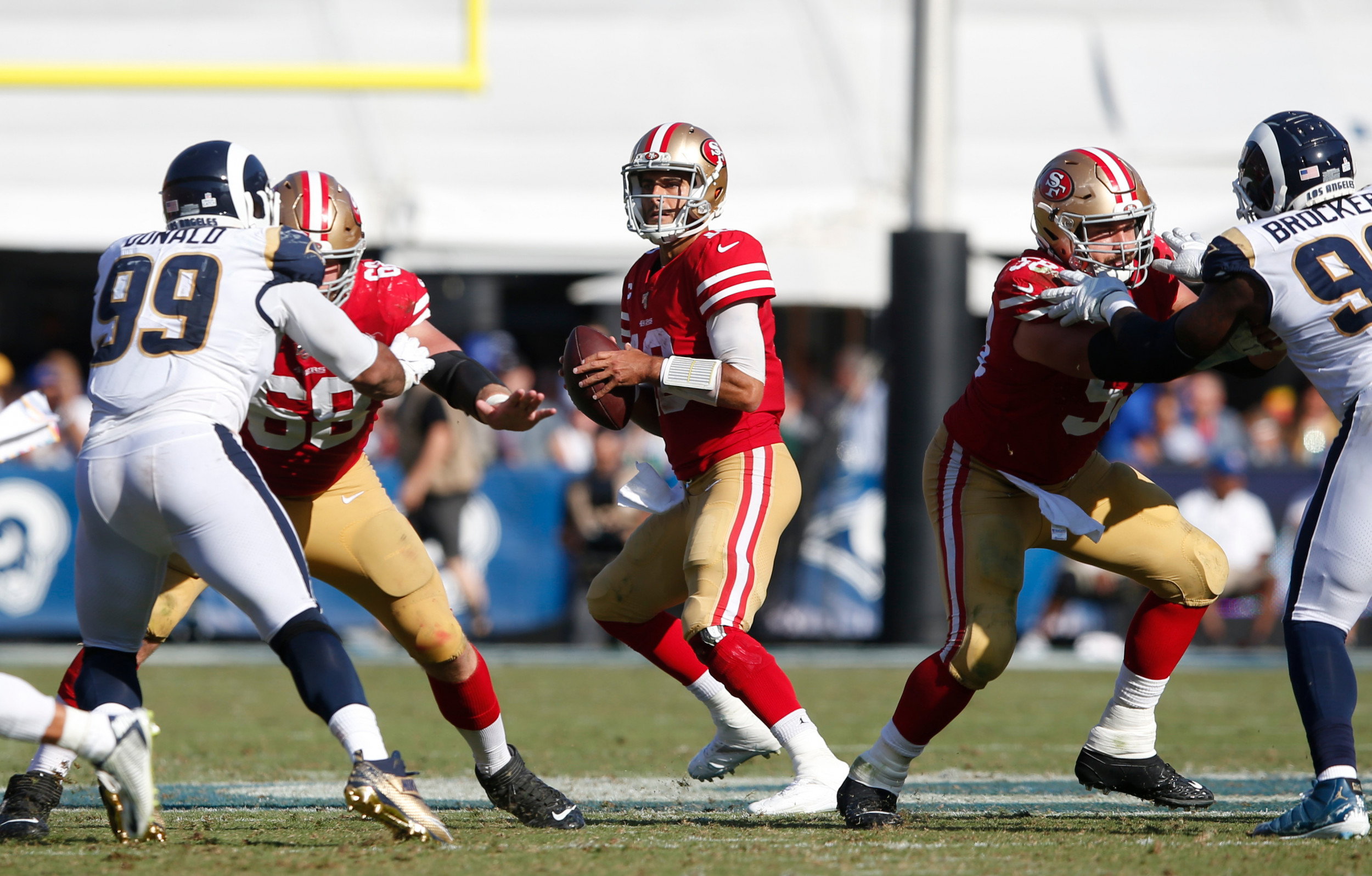 Los Angeles Rams Vs San Francisco 49ers How To Watch Live