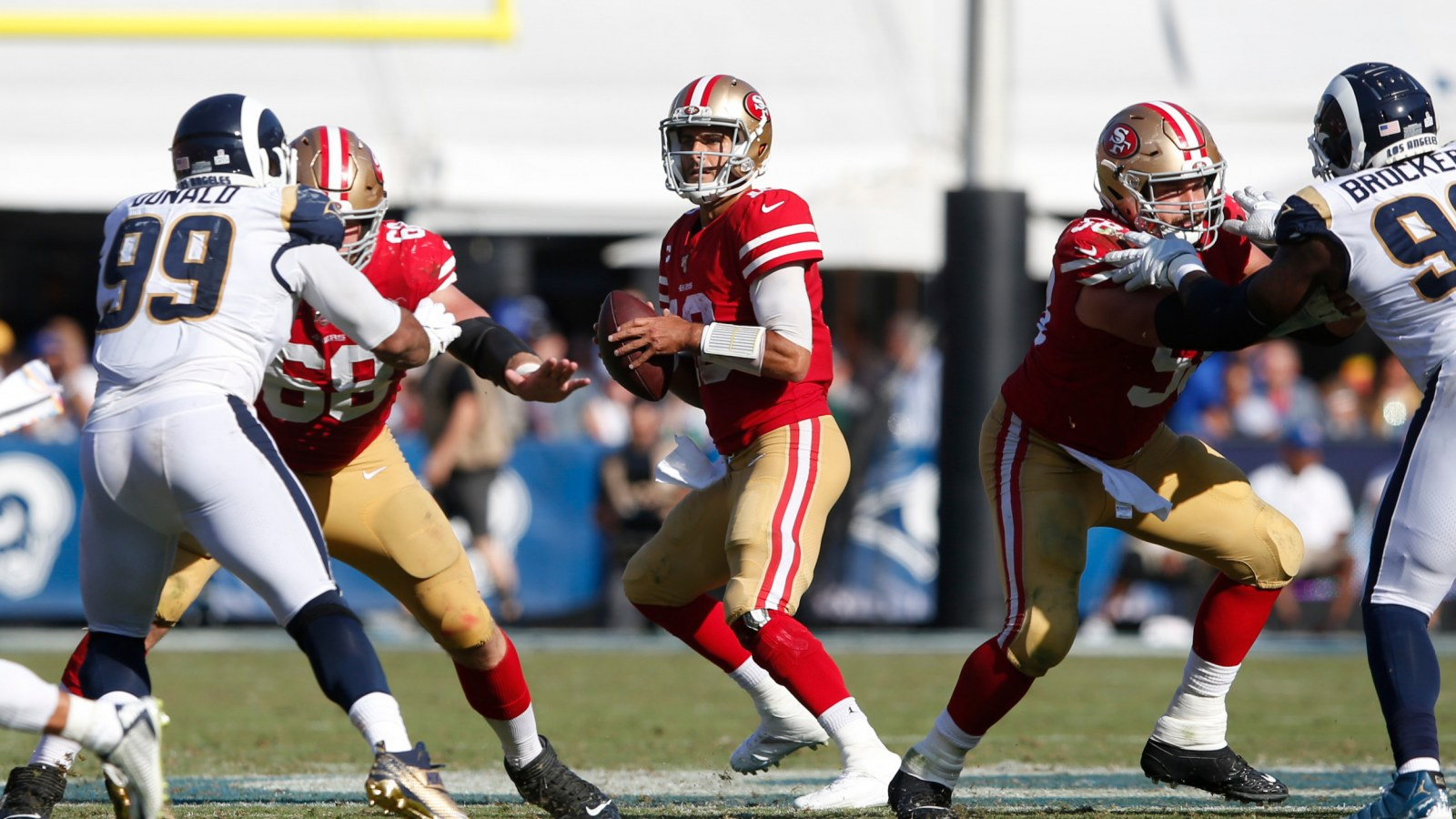 49ers rams game live stream free
