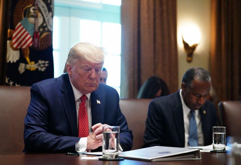 Donald Trump,  impeachment, prayer, pray, followers, Twitter