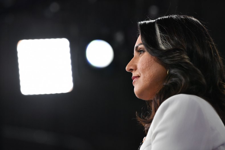 Gabbard Blames Clinton for Some Campaign Woes