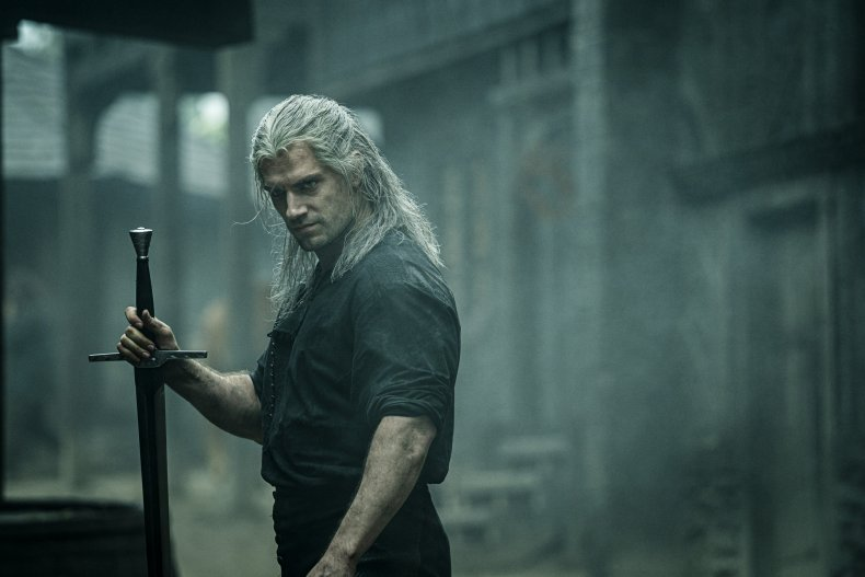 the witcher cast henry cavill