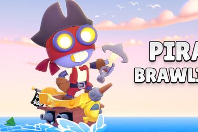 brawl stars December update bea pirate