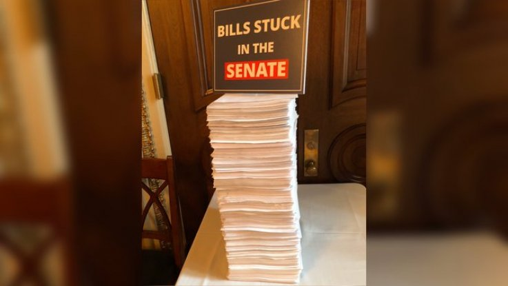 Bills Stuck in the Senate