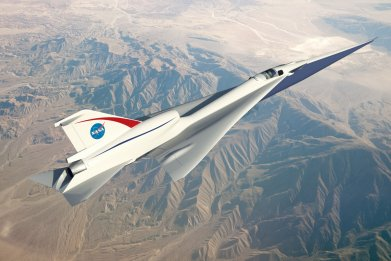 Lockheed Martin's Quiet Supersonic Technology (QueSST)