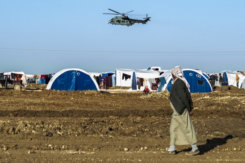 us, military, syria, displaced, camp, kurds