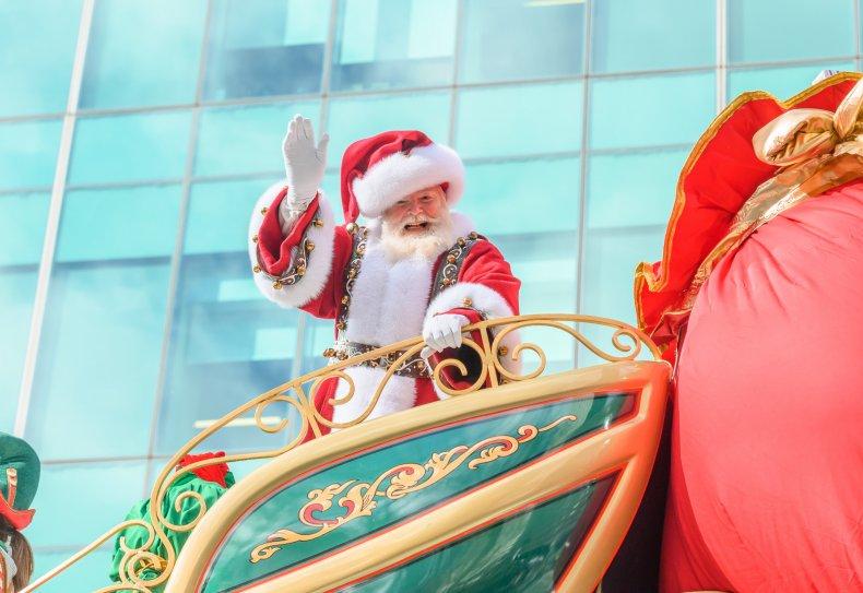 santa tracker start norad google