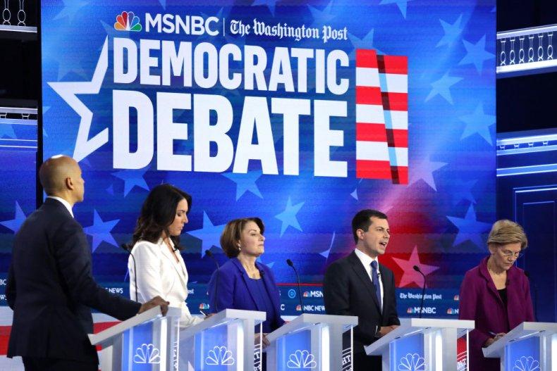 Democratic Primary Debate in Atlanta