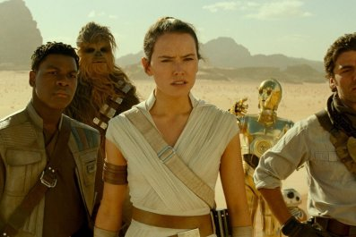 star wars rise of skywalker post-credits scene