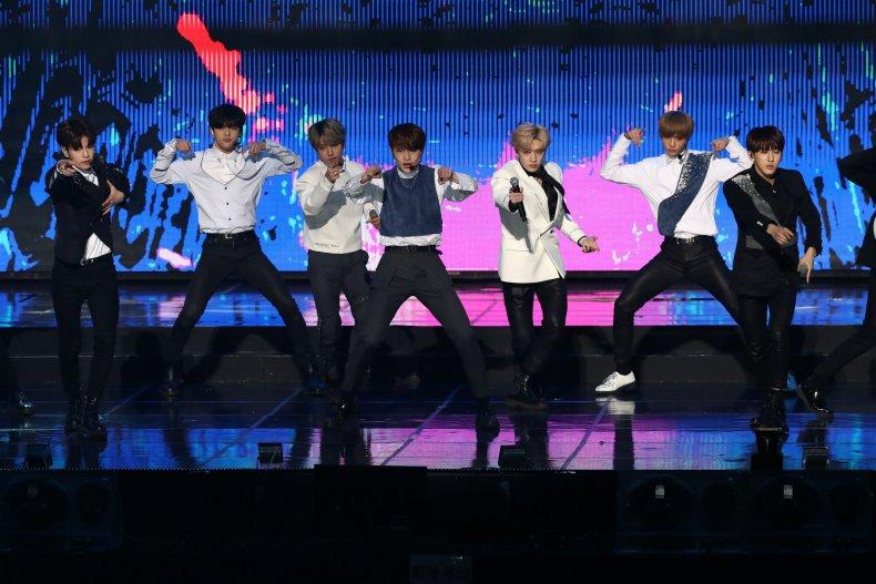Stray Kids K-pop boy band Seoul