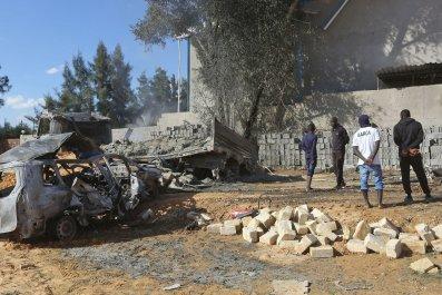 libya, airstrike, tripoli, military, attack