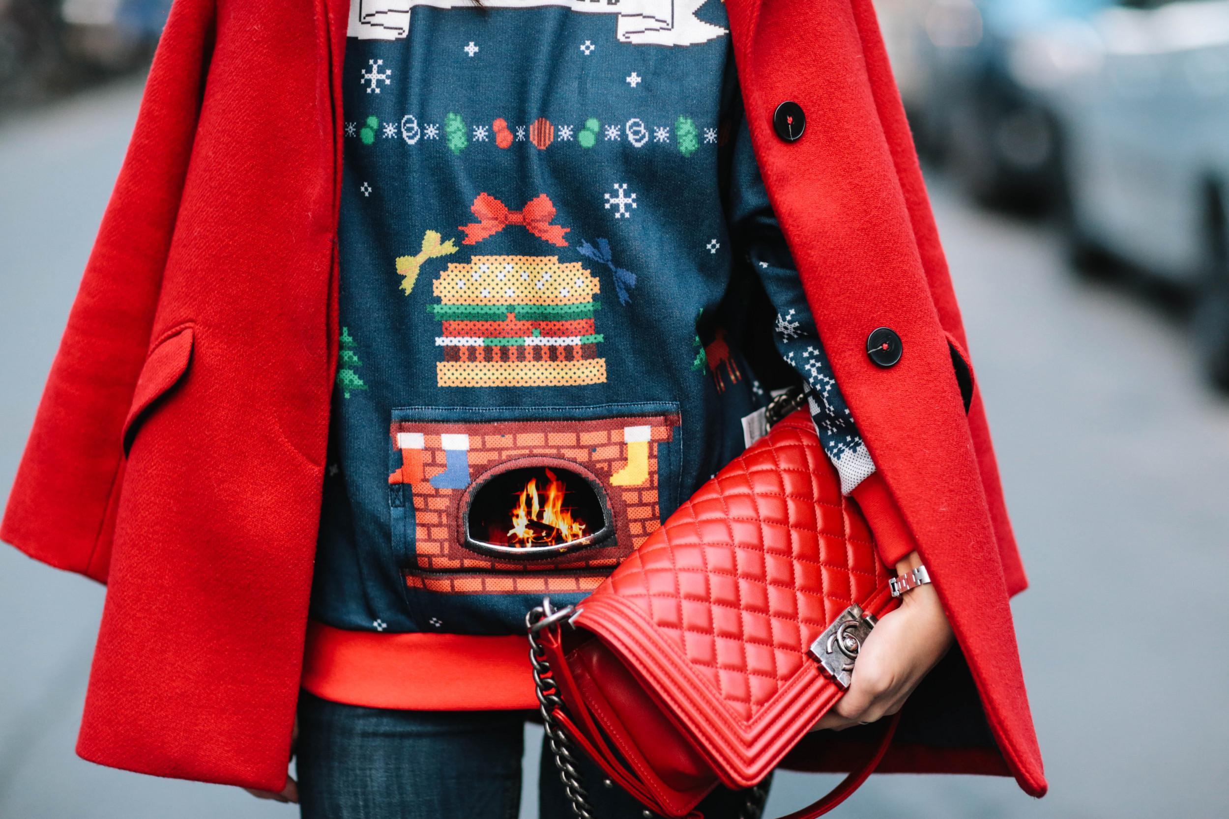 NUCOVASUTEE Dasher Dancer Prancer Vixen Comet Cupid Ugly Christmas T-Shirt
