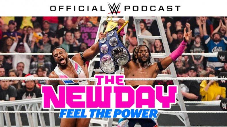 new day feel the power podcast kofi