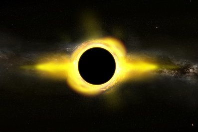 Illustration Supermassive Black Hole