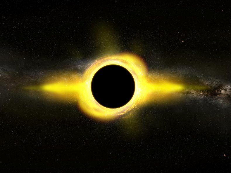 Illustration Supermassive Black Hole
