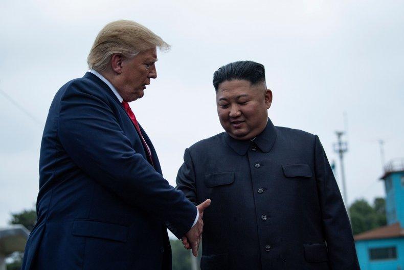 Donald Trump, Kim Jong Un, John Bolton