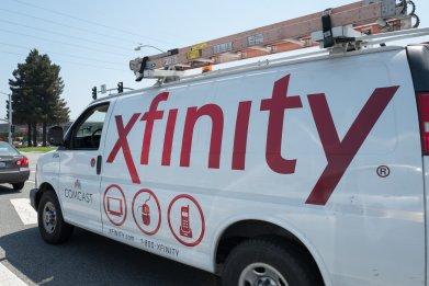xfinity comcast van