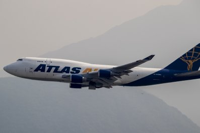 Atlas Air cargo plane