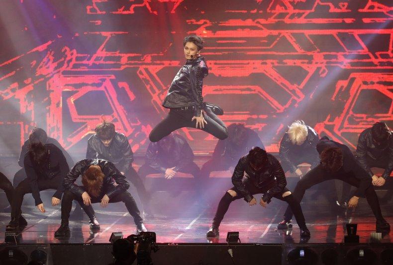 K-pop band Seventeen South Korea