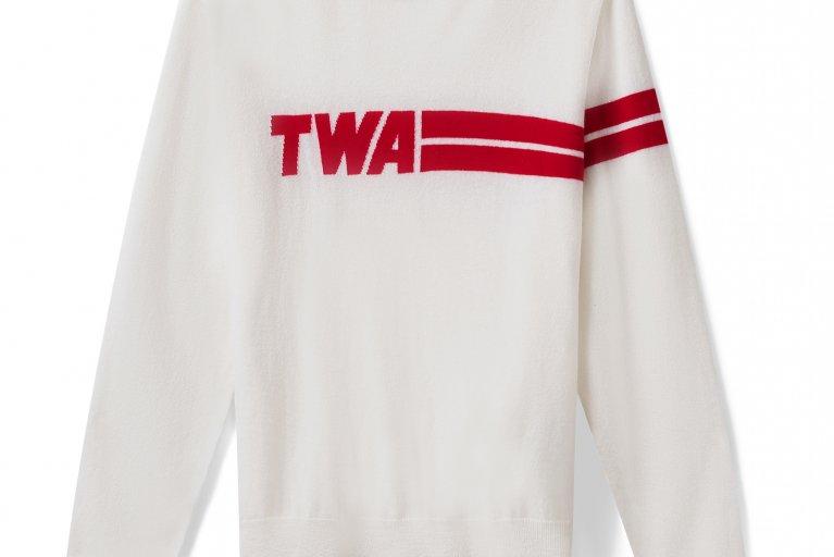 TWA '60s Retro Cashmere Sweater