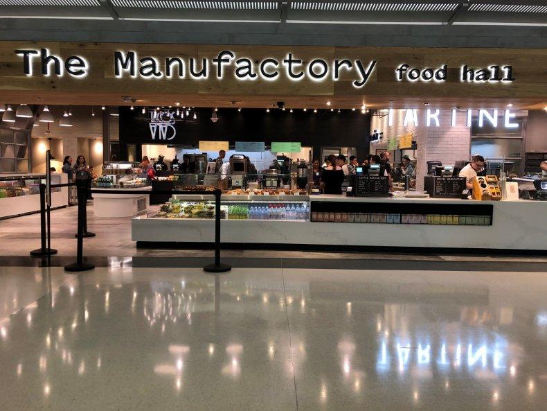 Manufactory Food Hall San Francisco Airport