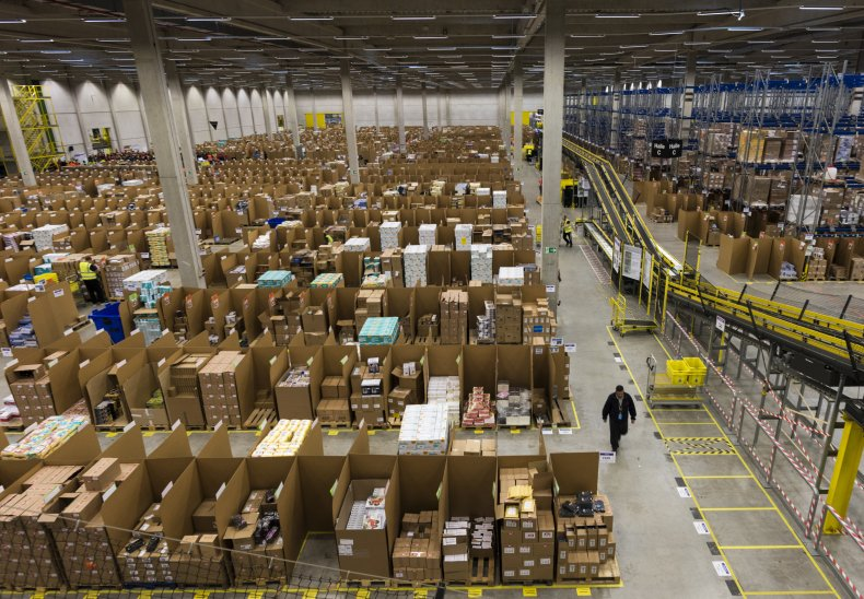 Amazon Germany factory