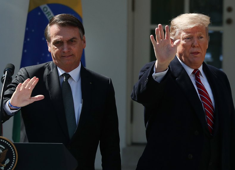 Bolsonaro and Trump