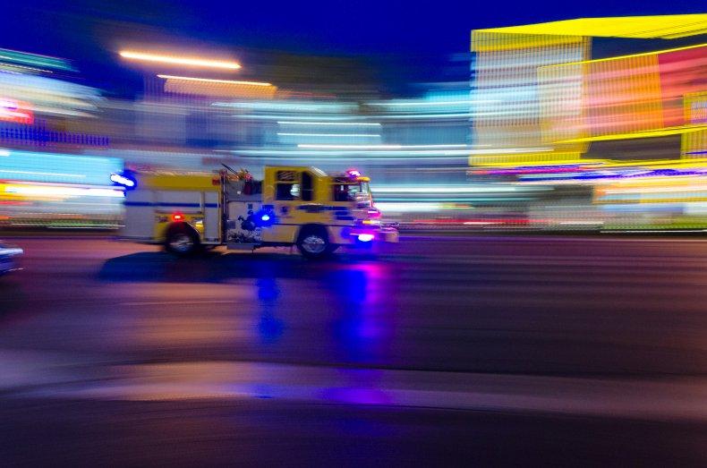 Las Vegas fire truck