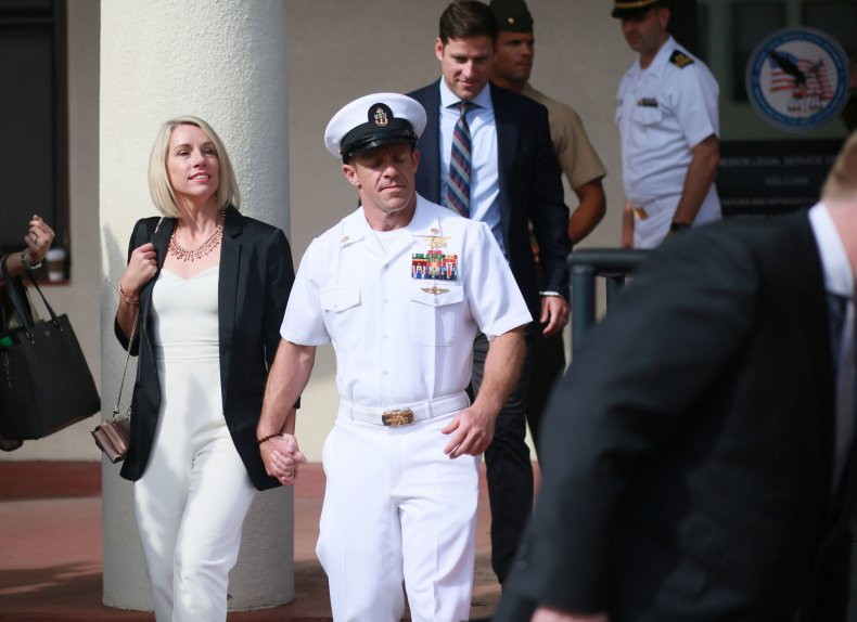 Eddie Gallagher, Donald Trump, SEAL, war crime