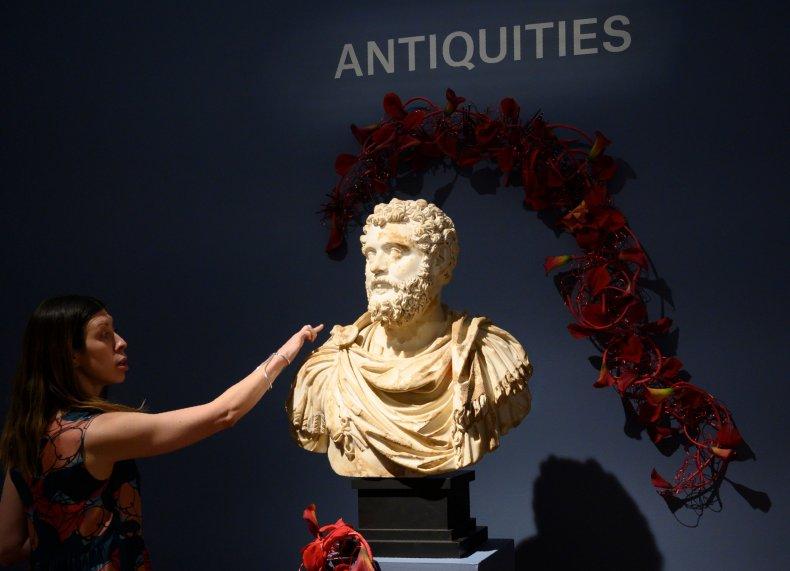 Bust of Emperor Didius Julianus