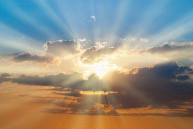 heaven, sky, stock, getty