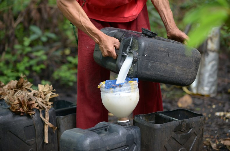 Coconut wine
