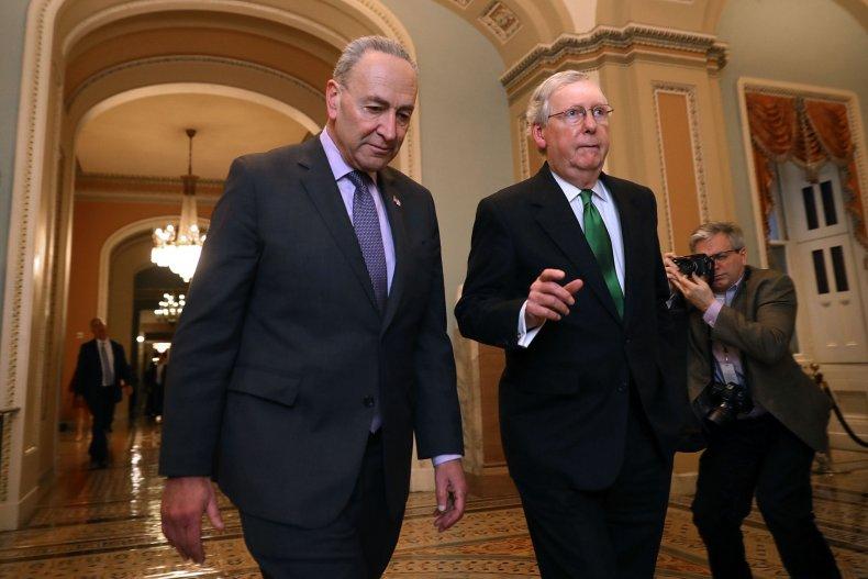 McConnell Schumer remain impasse Senate impeachment trial