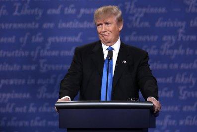 Donald Trump at 2016 Presidential Debate