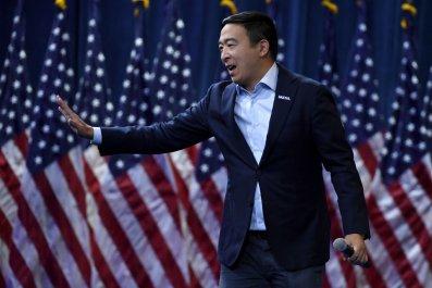 Andrew Yang at Gun Control Event