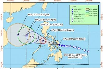 typhoon ursula phanfone path forecast