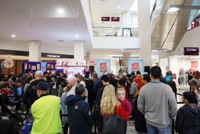 Fans Gather at Westfield Eastgardens in July