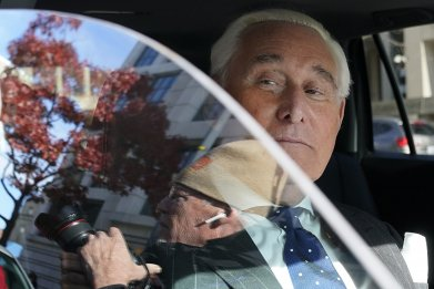Trump pardon Roger Stone