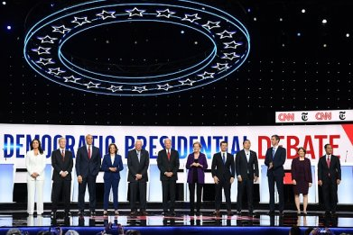 2020 democratic presidential debate ohio