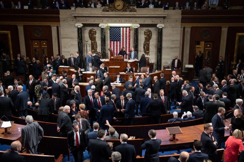 Congress Presides Over Impeachment