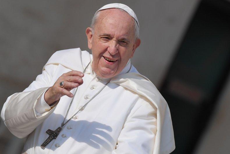 Pope Francis Vatican City 2018