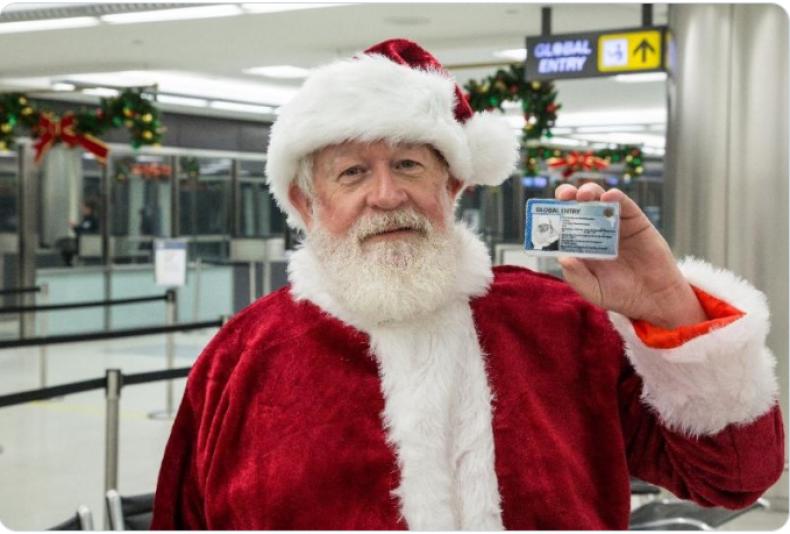 cbp customs border santa tweet