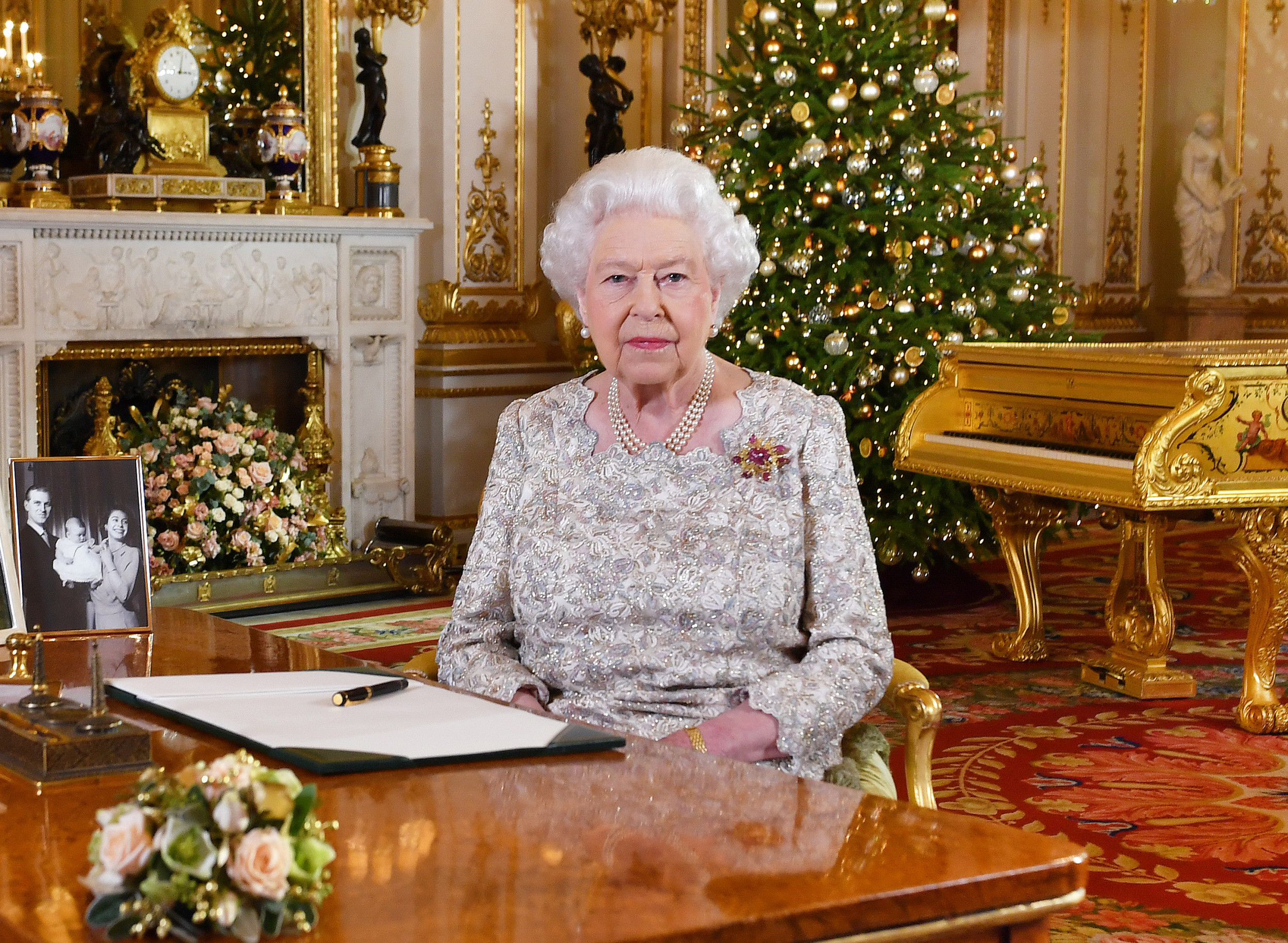 Queens Christmas Message Stream 2020 Queen Elizabeth II Welcomes Prince Harry and Meghan Markle's Baby